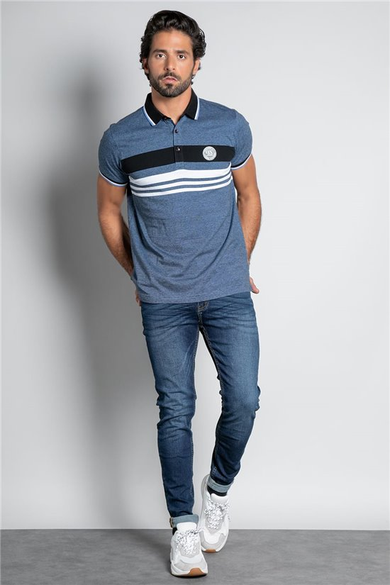 Polo shirt POLO DEXTER Man W20224M (56567) - DEELUXE-SHOP