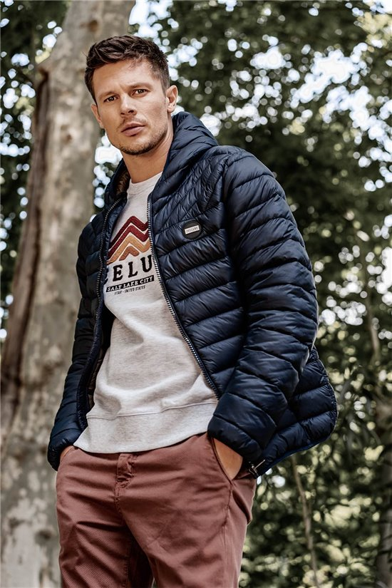 Puffy Jacket JACKET JOHNNY Man W20614M (56664) - DEELUXE-SHOP