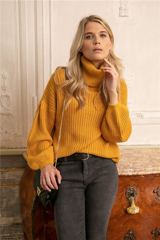 Sweater JUMPER CAMIL Woman W20319W (56670) - DEELUXE-SHOP