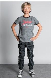 Pant TROUSERS GARDEN Boy W207017B (56686) - DEELUXE-SHOP