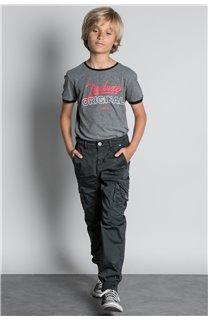 Pant TROUSERS GARDEN Boy W207017B (56687) - DEELUXE-SHOP