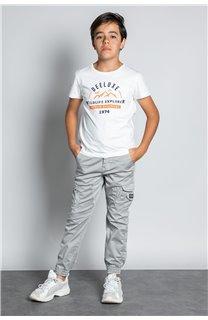 Pant TROUSERS GARDEN Boy W207017B (56691) - DEELUXE-SHOP