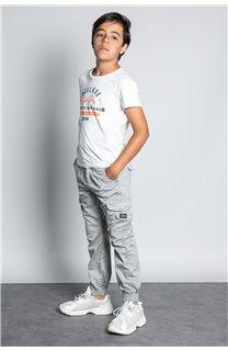 Pant TROUSERS GARDEN Boy W207017B (56692) - DEELUXE-SHOP
