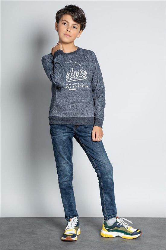 Sweatshirt SWEATSHIRT MERIBEL Boy W20530B (56706) - DEELUXE-SHOP