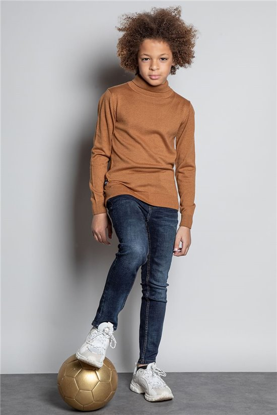 Sweater JUMPER ROLLUP Boy W20319B (56815) - DEELUXE-SHOP