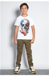 Pant CHINOS COTTAGE Boy W207001B (56835) - DEELUXE-SHOP