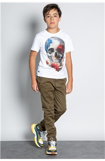 Pant CHINOS COTTAGE Boy W207001B (56836) - DEELUXE-SHOP