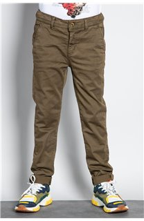 Pant CHINOS COTTAGE Boy W207001B (56837) - DEELUXE-SHOP