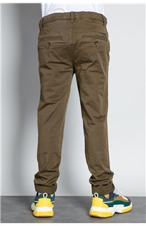 Pant CHINOS COTTAGE Boy W207001B (56838) - DEELUXE-SHOP