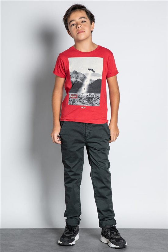 Pant CHINOS COTTAGE Boy W207001B (56845) - DEELUXE-SHOP