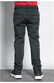 Pant CHINOS COTTAGE Boy W207001B (56843) - DEELUXE-SHOP