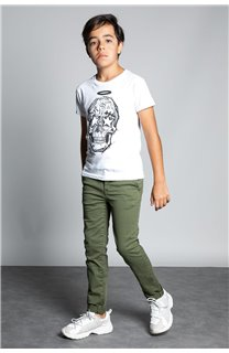 Pant CHINOS COTTAGE Boy W207001B (56846) - DEELUXE-SHOP