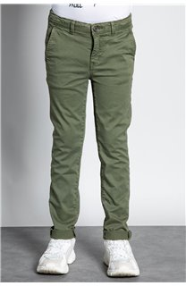 Pant CHINOS COTTAGE Boy W207001B (56847) - DEELUXE-SHOP