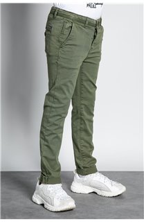 Pant CHINOS COTTAGE Boy W207001B (56849) - DEELUXE-SHOP