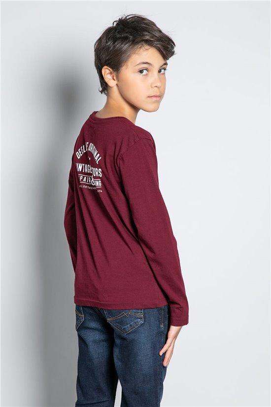 T-Shirt T-SHIRT VENICE Boy W20177B (56920) - DEELUXE-SHOP