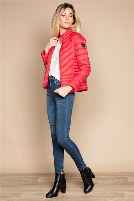 Puffy Jacket JACKET PRISCA Woman W20669W (57009) - DEELUXE-SHOP