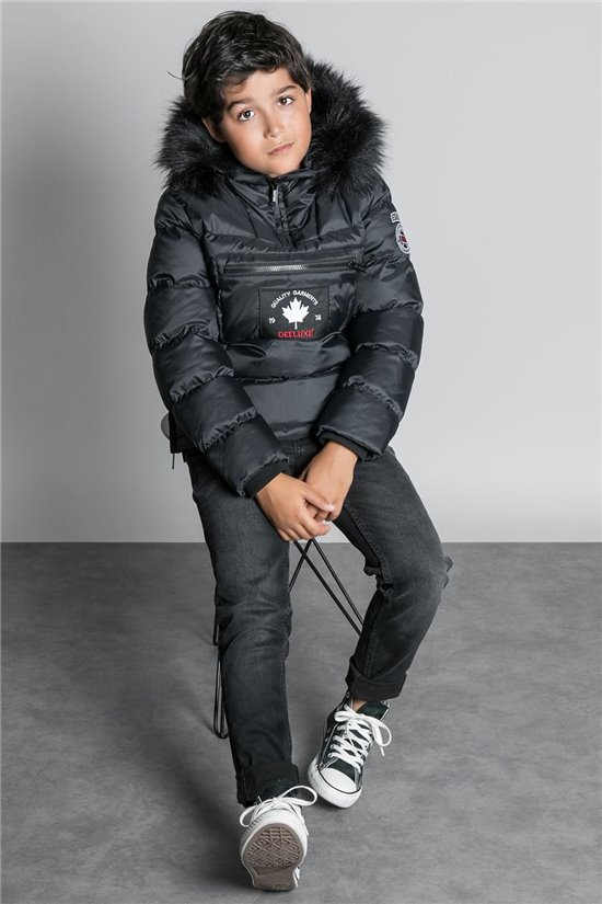 Puffy Jacket JACKET ICE Boy W20643B (57018) - DEELUXE-SHOP