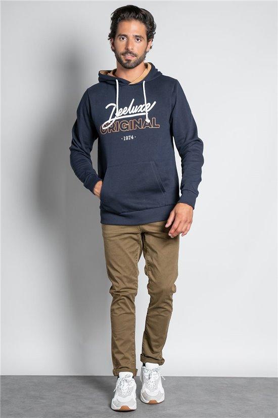 Sweatshirt HOODIE FURISU Man W20552M (57044) - DEELUXE-SHOP