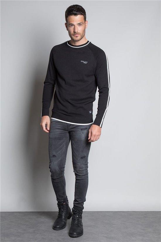 Sweater PULL EMPOWER Man W20310M (57124) - DEELUXE-SHOP