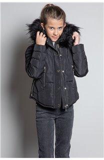 Puffy Jacket JACKET LEONA Girl W20662G (57129) - DEELUXE-SHOP
