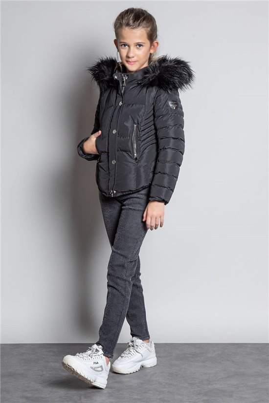 Puffy Jacket JACKET LEONA Girl W20662G (56675) - DEELUXE-SHOP