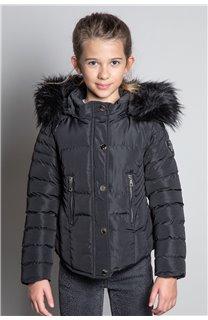Puffy Jacket JACKET LEONA Girl W20662G (57131) - DEELUXE-SHOP