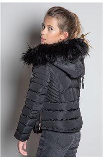 Puffy Jacket JACKET LEONA Girl W20662G (57132) - DEELUXE-SHOP