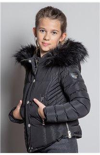Puffy Jacket JACKET LEONA Girl W20662G (57133) - DEELUXE-SHOP