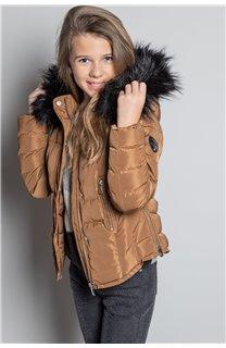 Puffy Jacket JACKET LEONA Girl W20662G (57134) - DEELUXE-SHOP