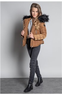 Puffy Jacket JACKET LEONA Girl W20662G (57135) - DEELUXE-SHOP