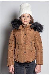 Puffy Jacket JACKET LEONA Girl W20662G (57136) - DEELUXE-SHOP