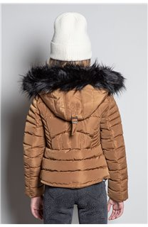 Puffy Jacket JACKET LEONA Girl W20662G (57137) - DEELUXE-SHOP