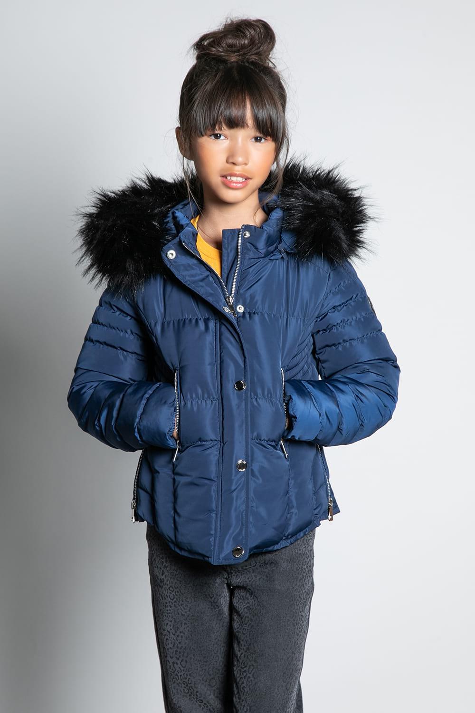 Puffy Jacket JACKET LEONA Girl W20662G (57139) - DEELUXE-SHOP