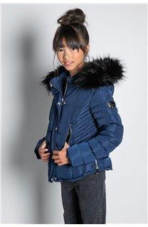 Puffy Jacket JACKET LEONA Girl W20662G (57140) - DEELUXE-SHOP