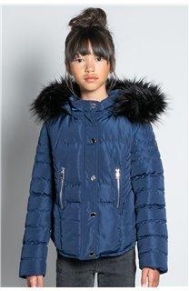Puffy Jacket JACKET LEONA Girl W20662G (57141) - DEELUXE-SHOP