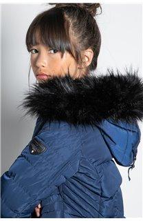 Puffy Jacket JACKET LEONA Girl W20662G (57143) - DEELUXE-SHOP
