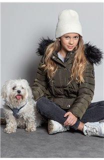 Puffy Jacket JACKET LEONA Girl W20662G (57144) - DEELUXE-SHOP