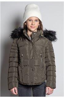 Puffy Jacket JACKET LEONA Girl W20662G (57145) - DEELUXE-SHOP