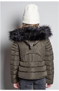 Puffy Jacket JACKET LEONA Girl W20662G (57146) - DEELUXE-SHOP
