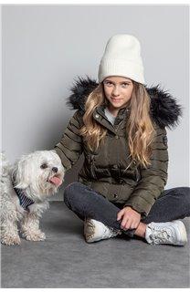 Puffy Jacket JACKET LEONA Girl W20662G (57147) - DEELUXE-SHOP