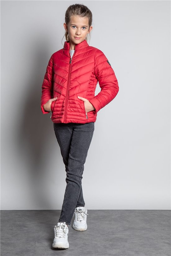 Puffy Jacket JACKET PRISCA Girl W20669G (57173) - DEELUXE-SHOP