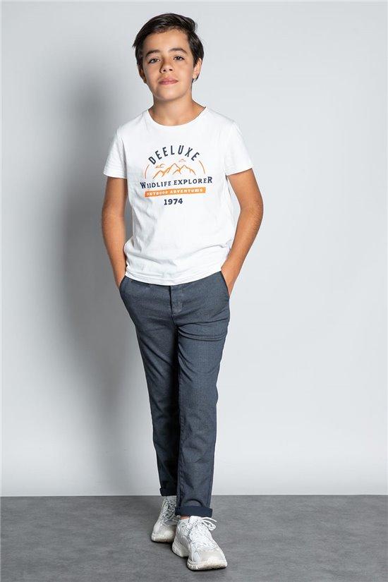 Pant CHINOS ALMA Boy W207013B (57352) - DEELUXE-SHOP