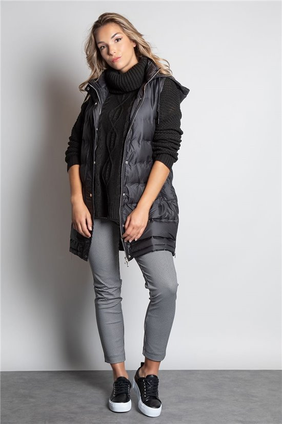 Puffy Jacket GILET OGGIE Woman W20671W (56672) - DEELUXE-SHOP
