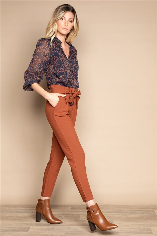 Pant TROUSERS ROSELINE Woman W20720W (57620) - DEELUXE-SHOP