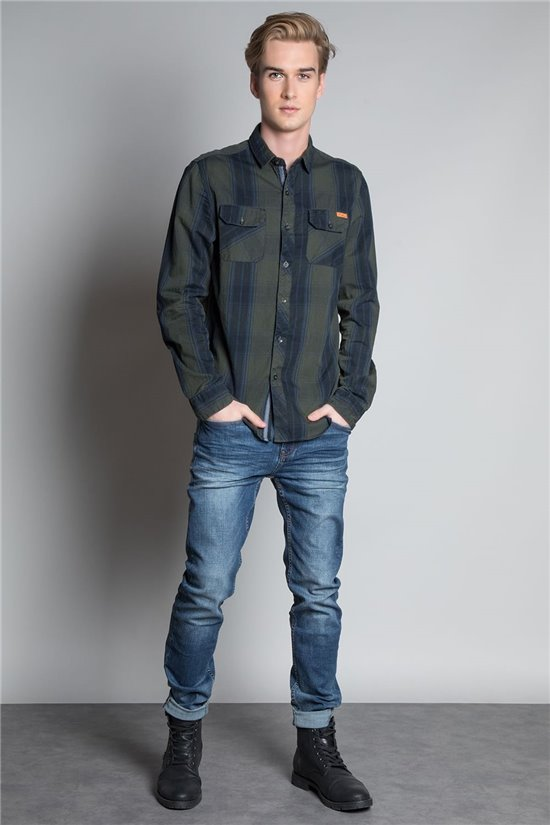 Shirt SHIRT TILBURG Man W20418M (57728) - DEELUXE-SHOP