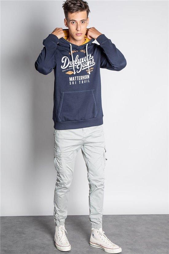 Sweatshirt HOODIE YAMA Man W20551M (57839) - DEELUXE-SHOP