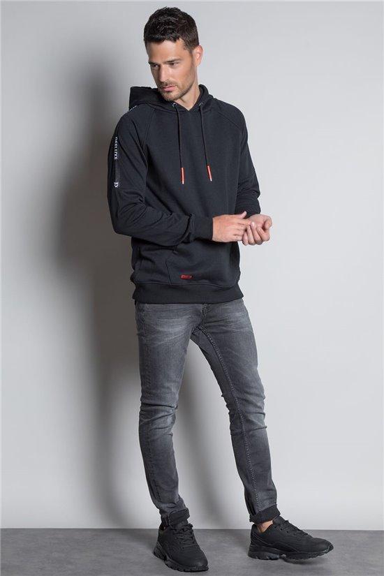Sweatshirt HOODIE SUMO Man W20515M (56666) - DEELUXE-SHOP