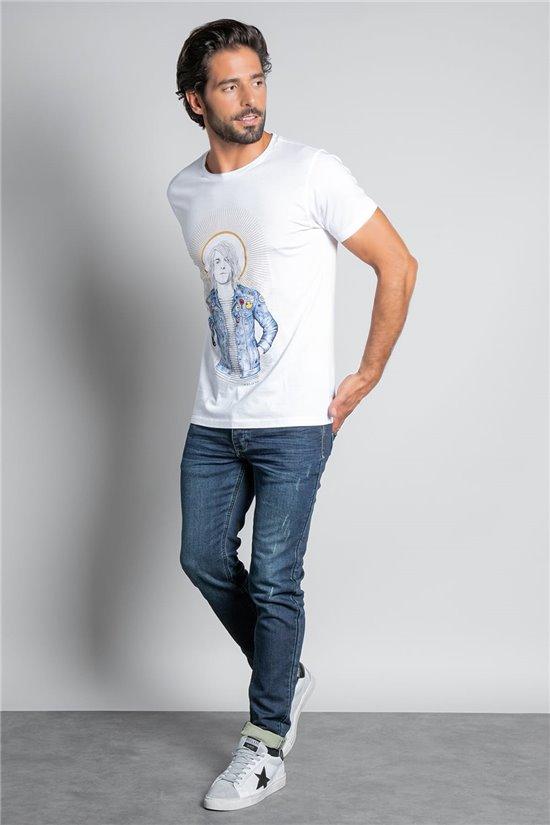 T-shirt T-SHIRT NEVERMIND Man W20183M (57922) - DEELUXE-SHOP