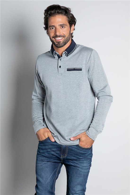Polo shirt POLO KLONE Man W20209M (57937) - DEELUXE-SHOP