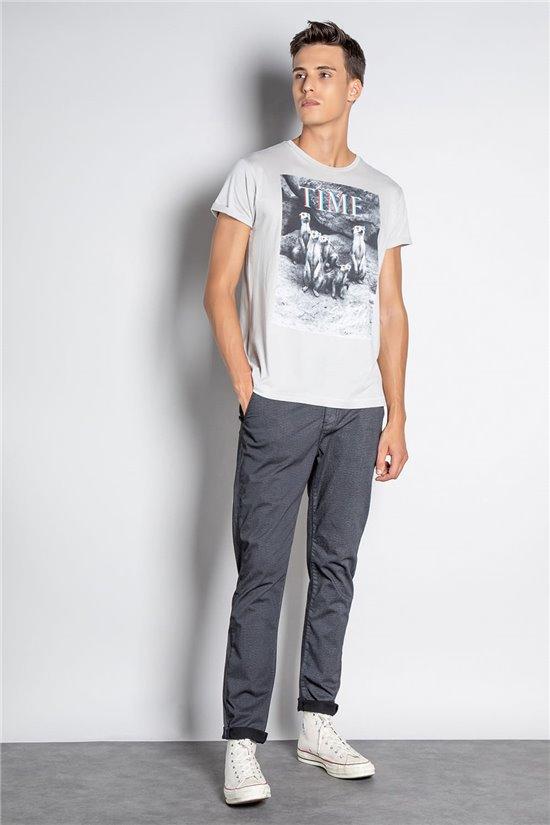 T-shirt T-SHIRT SURICATE Man W20150M (56671) - DEELUXE-SHOP